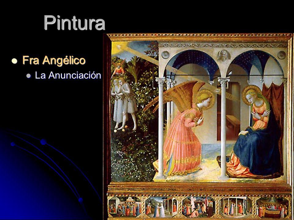 Pintura Fra Angélico Fra Angélico La Anunciación La Anunciación