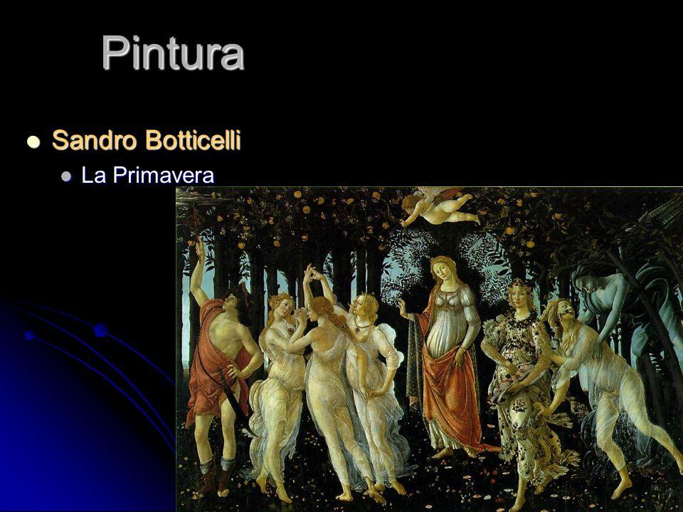 Pintura Sandro Botticelli Sandro Botticelli La Primavera La Primavera