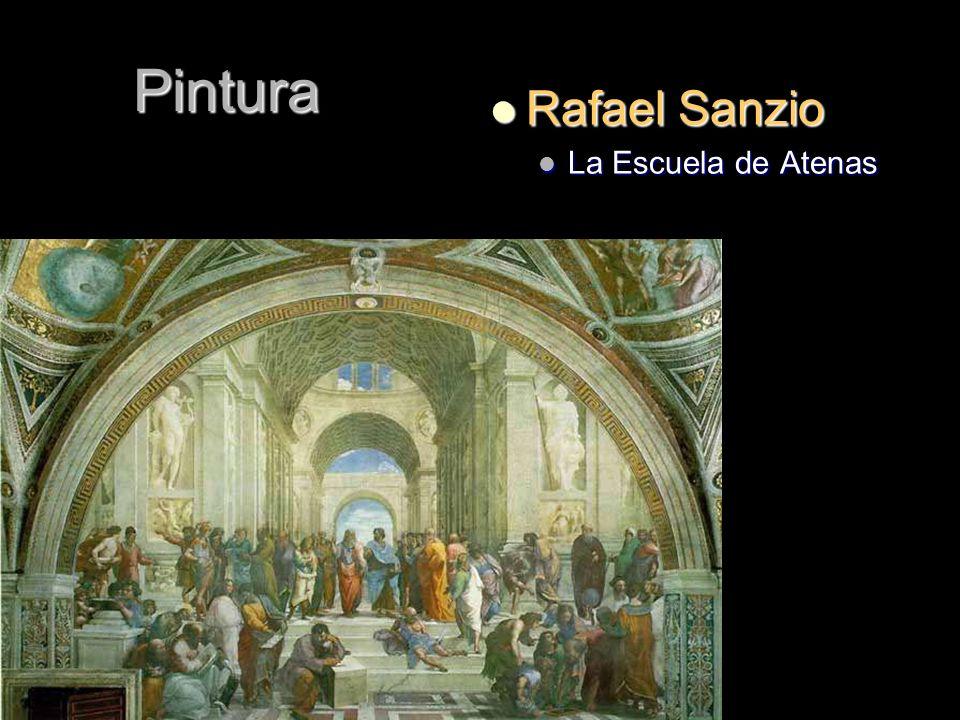 Pintura Rafael Sanzio Rafael Sanzio La Escuela de Atenas La Escuela de Atenas