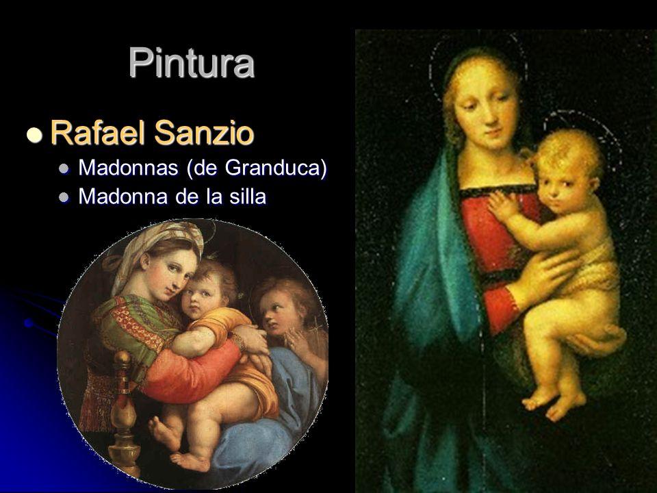 Pintura Rafael Sanzio Rafael Sanzio Madonnas (de Granduca) Madonnas (de Granduca) Madonna de la silla Madonna de la silla