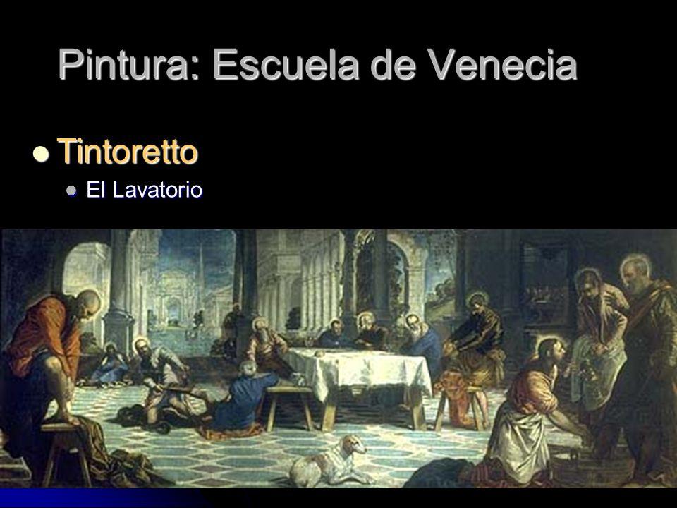 Pintura: Escuela de Venecia Tintoretto Tintoretto El Lavatorio El Lavatorio
