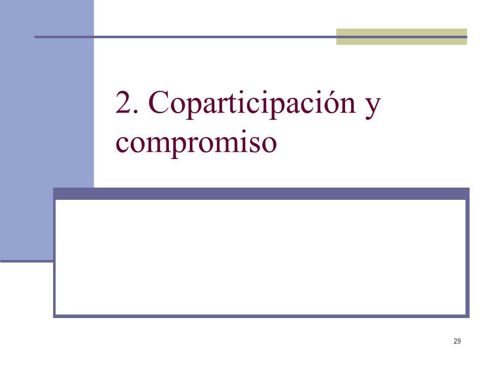 29 2. Coparticipación y compromiso
