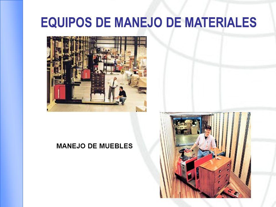 EQUIPOS DE MANEJO DE MATERIALES MANEJO DE MUEBLES