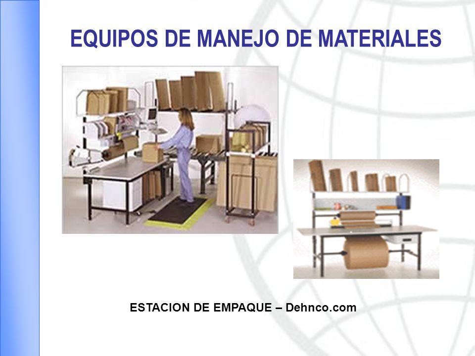 EQUIPOS DE MANEJO DE MATERIALES ESTACION DE EMPAQUE – Dehnco.com