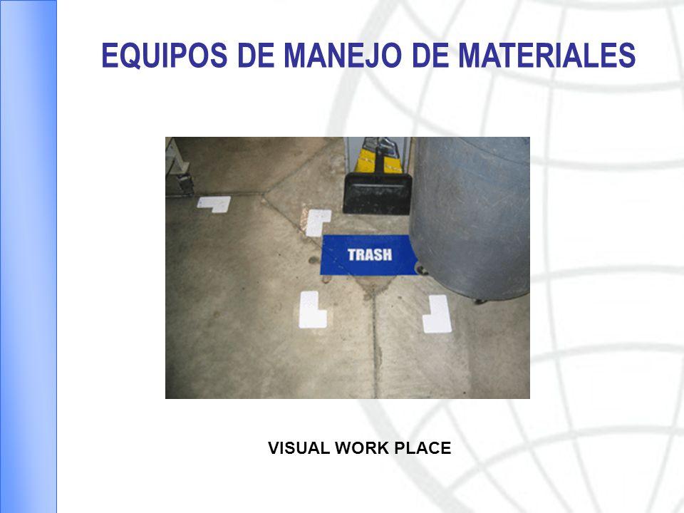 EQUIPOS DE MANEJO DE MATERIALES VISUAL WORK PLACE