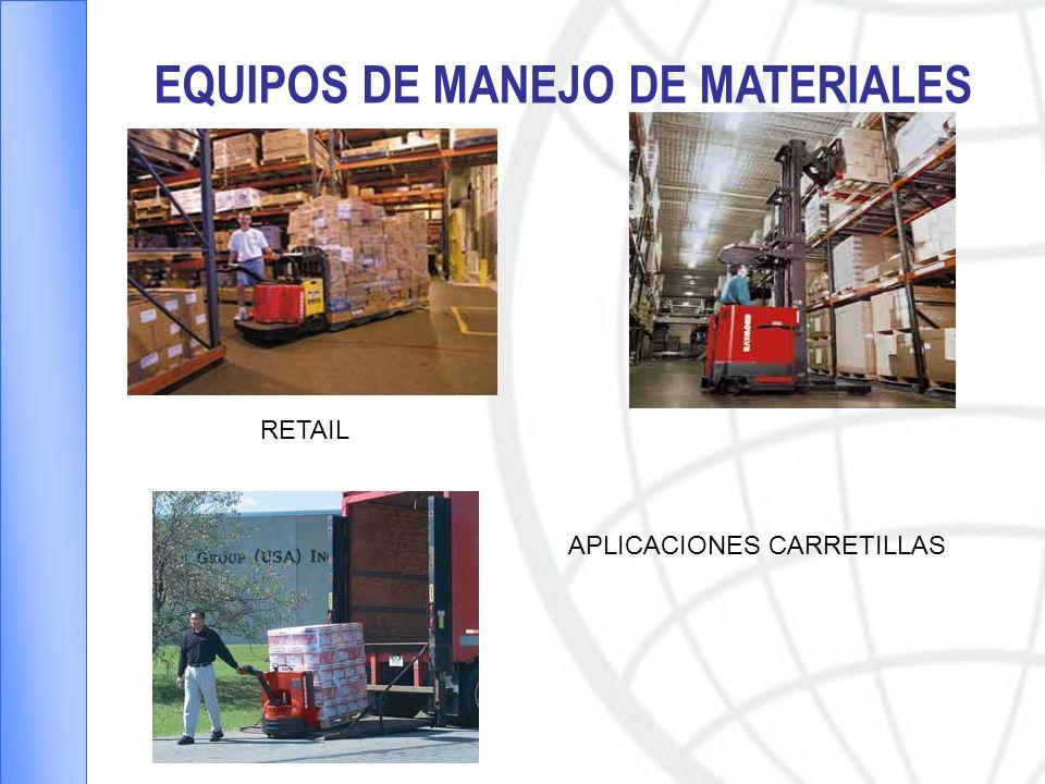 EQUIPOS DE MANEJO DE MATERIALES APLICACIONES CARRETILLAS RETAIL