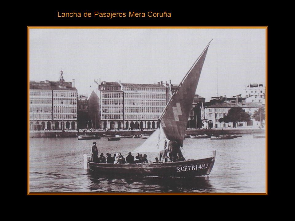 MUELLE DE LINARES RIVAS PESCA Veremos las pescantinas transportando las cestas de pescado y vemos los Barcos de Pesca a Vela