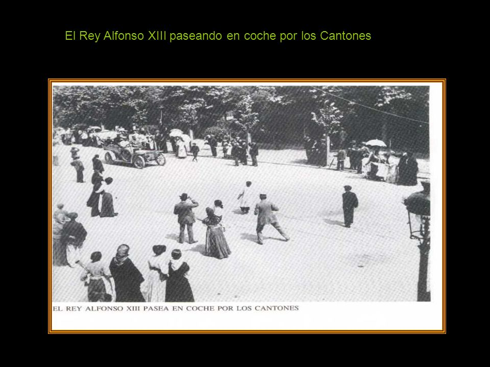 Alfonso XIII hizo su primer viaje a la Coruña y Galicia el 23 de Agosto acompañado por su Madre Doña María Cristina y las Infantas. El 2 de Septiembre