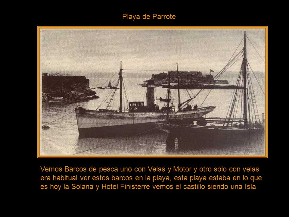 Fuerte Temporal en el Puerto años 1920