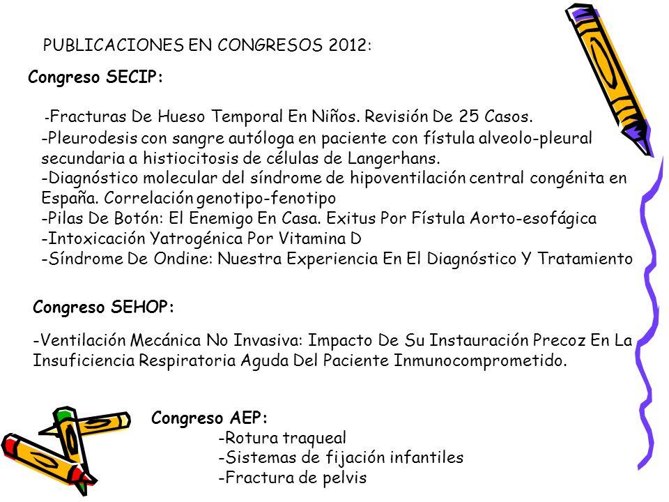 Congreso SEHOP: -Ventilación Mecánica No Invasiva: Impacto De Su Instauración Precoz En La Insuficiencia Respiratoria Aguda Del Paciente Inmunocomprom