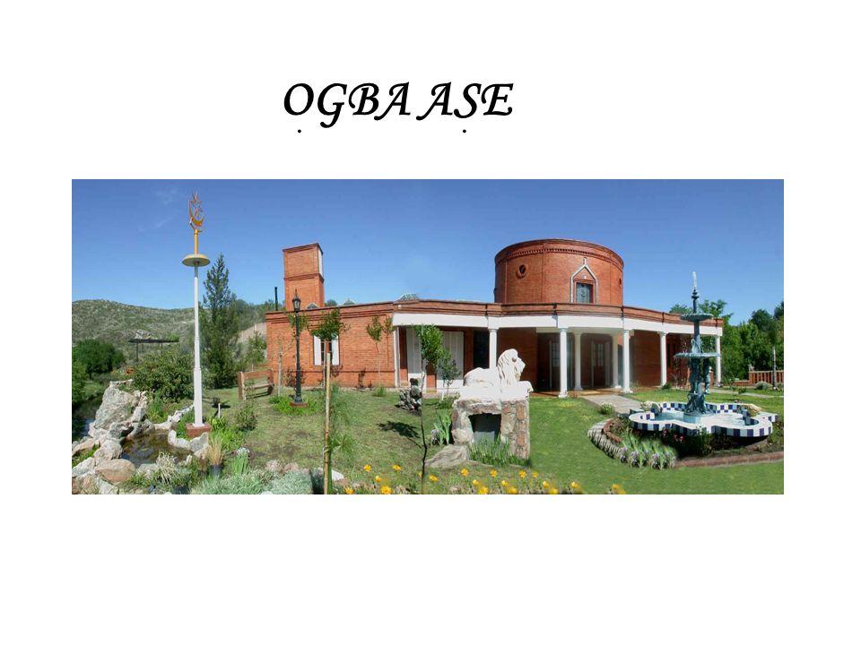 OGBA ASE, es el nuevo Templo de la Religión de los Òrisà, perteneciente a la Congregación Ijexa Ile Sonponno Yemanja, dirigido por el Oluwo Luis A. Ma