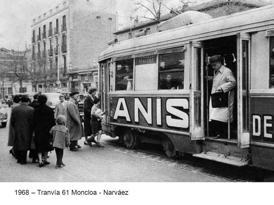 1968 – Tranvía 61 Moncloa - Narváez