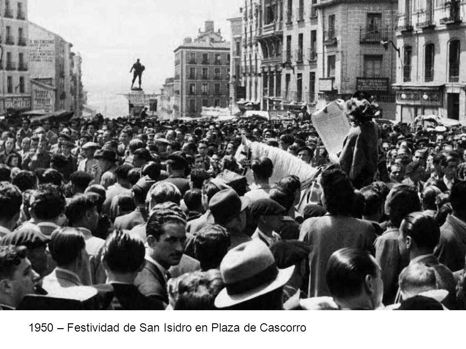 1950 – Festividad de San Isidro en Plaza de Cascorro