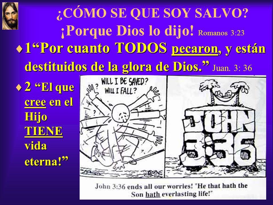 ¡Confesar a Jesús! Romanos 10:9,10 ¡Para ser Salvo: 1) Confesar el Pecado 2) Creer en Jesús 3) Recibir a Jesús! 4) ¡Confesar a Jesús! Romanos 10:9,10