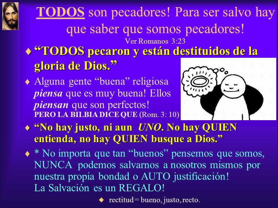 Salvación Eterna Salvación Eterna Un Regalo de Dios UNA VEZ salvo SIEMPRE salvo! Como Decimos:UNA VEZ salvo SIEMPRE salvo! Eterna = Por La Eternidad!