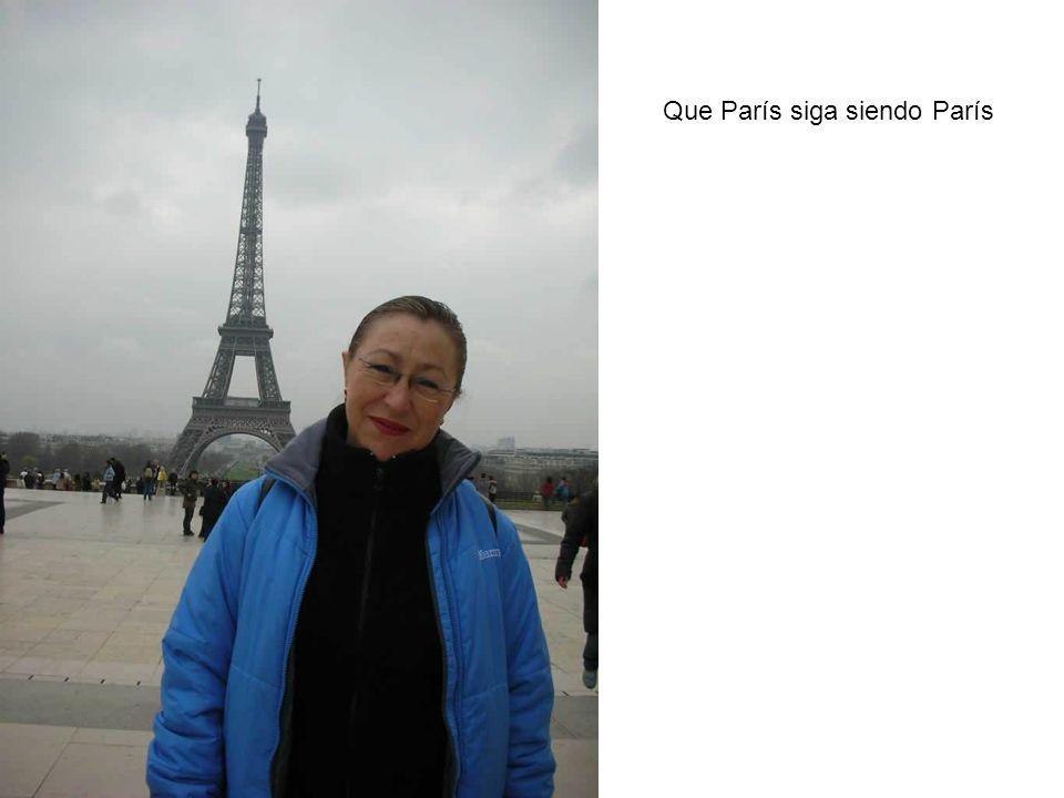 Que París siga siendo París