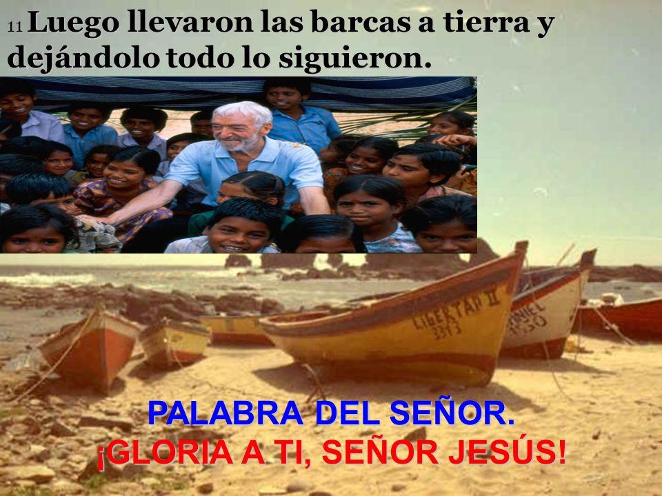 Entonces Jesús dijo a Simón: No temas, desde ahora serás pescador de hombres