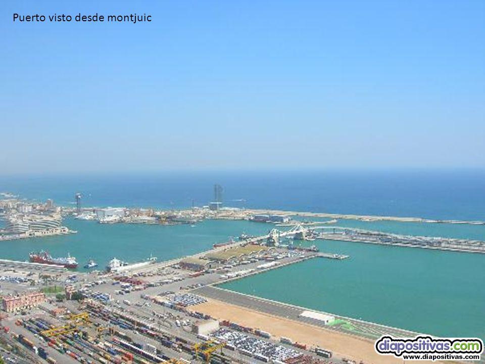 puerto Playa de la Barceloneta