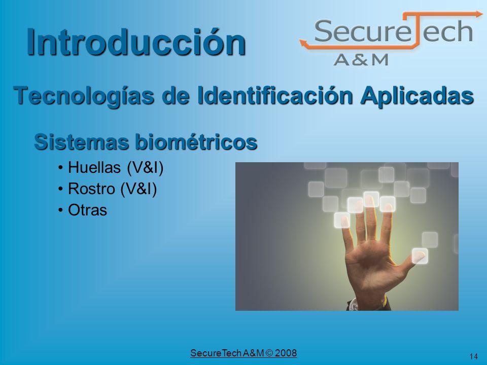 Sistemas Biometricos de Identificacion de Identificaci n Aplicadas Sistemas Biom Tricos Huellas v Amp i Rostro