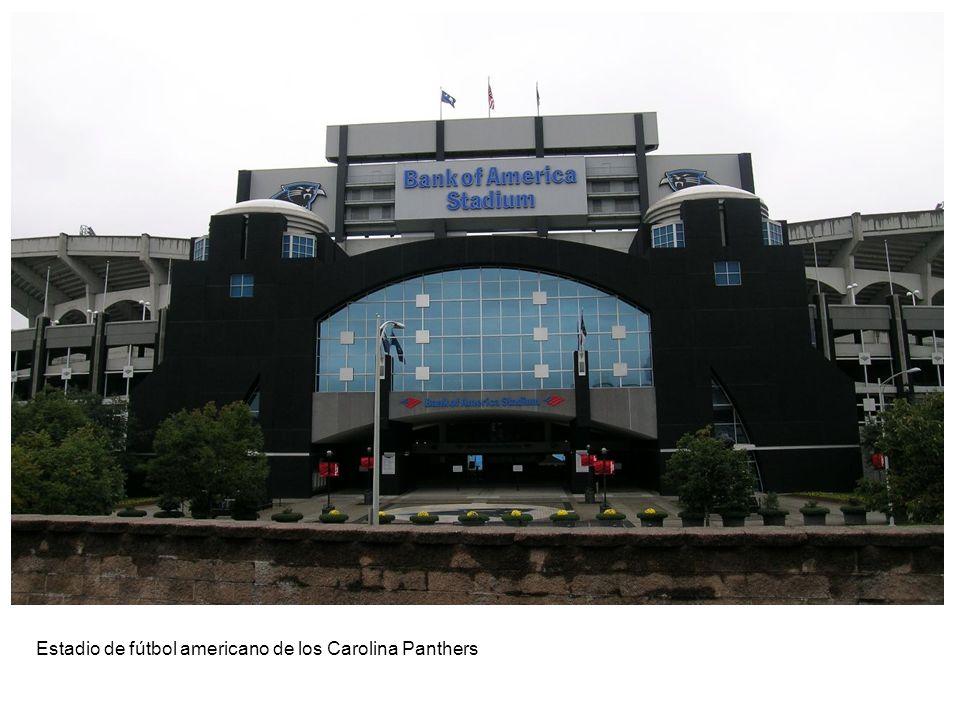 Estadio de fútbol americano de los Carolina Panthers