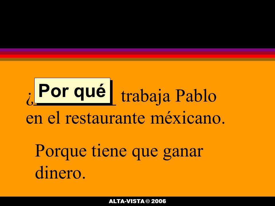 ¿__________ van Sara y Julia.Van al restaurante méxicano donde trabaja Pablo.