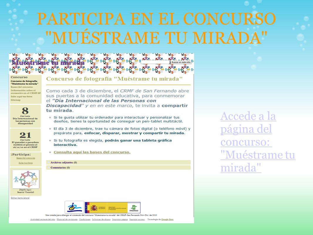 PARTICIPA EN EL CONCURSO