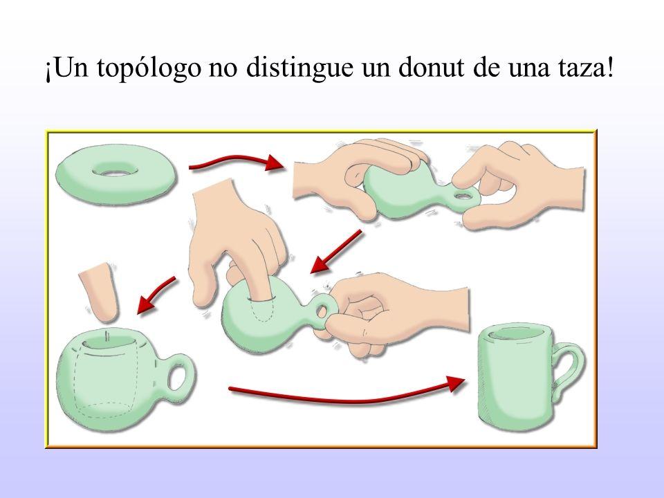 ¡Un topólogo no distingue un donut de una taza!
