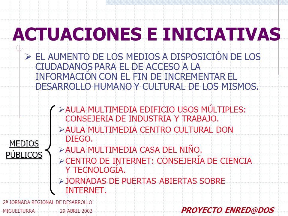 AULA MULTIMEDIA EDIFICIO USOS MÚLTIPLES: CONSEJERIA DE INDUSTRIA Y TRABAJO.