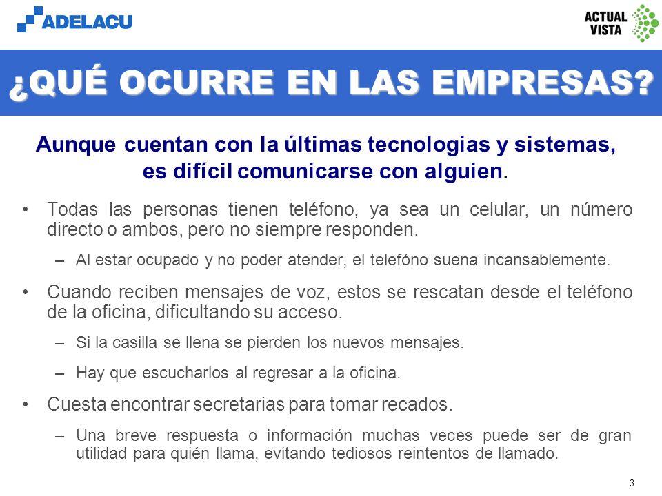 www.adelacu.com 2 INTRODUCCIÓN Este documento contiene información de Graballo-Secretaria, una aplicación de atención telefónica automática de los pro