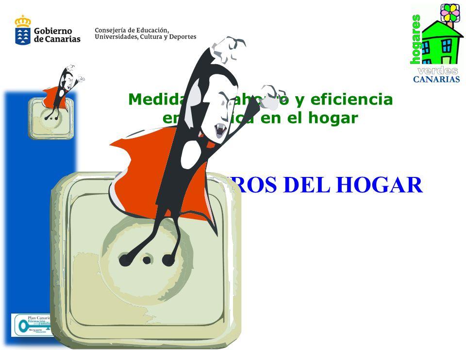 Medidas de ahorro y eficiencia energética en el hogar LOS VAMPIROS DEL HOGAR