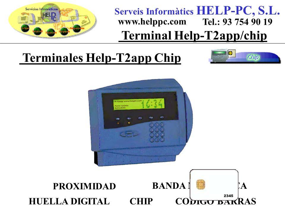 Terminales Help-T2app Chip Serveis Informàtics HELP-PC, S.L.