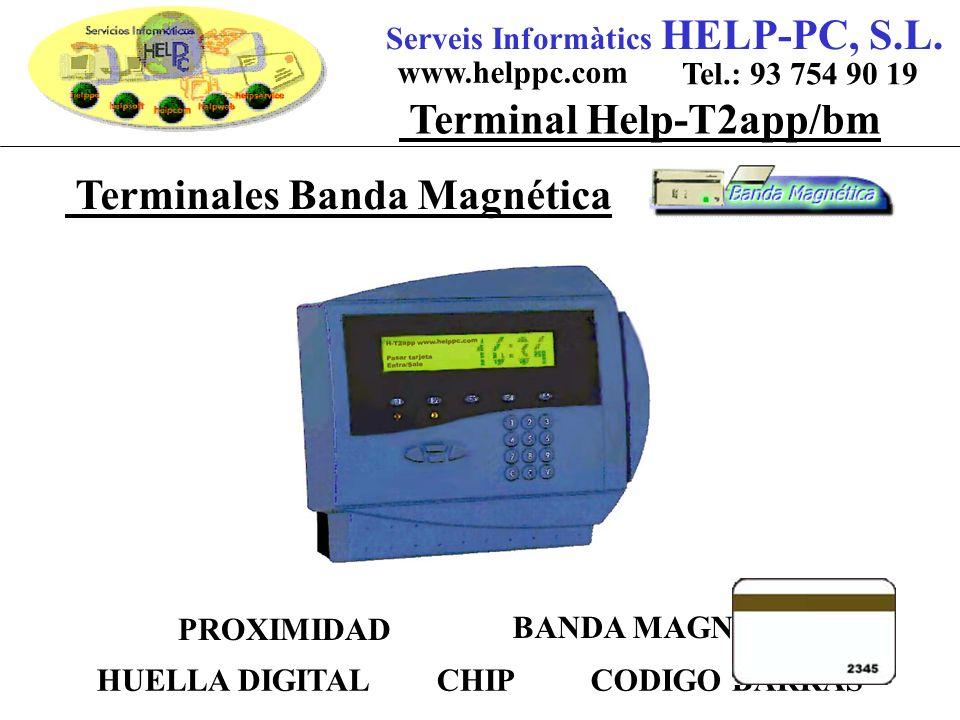Terminales Banda Magnética Serveis Informàtics HELP-PC, S.L.