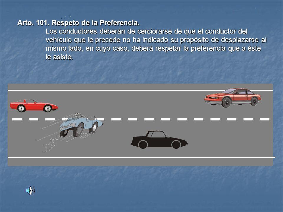 Arto. 99. Aventajamiento. Como norma general en todas las vías,(urbanas y rurales) las maniobras de aventajamiento deberán efectuarse por la izquierda