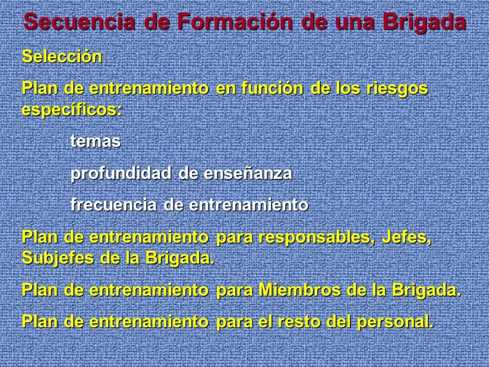 Motivación para los Brigadistas Lo más importante en cuanto a la motivación por parte del personal integrante de una BCI, es que el mismo se sienta un