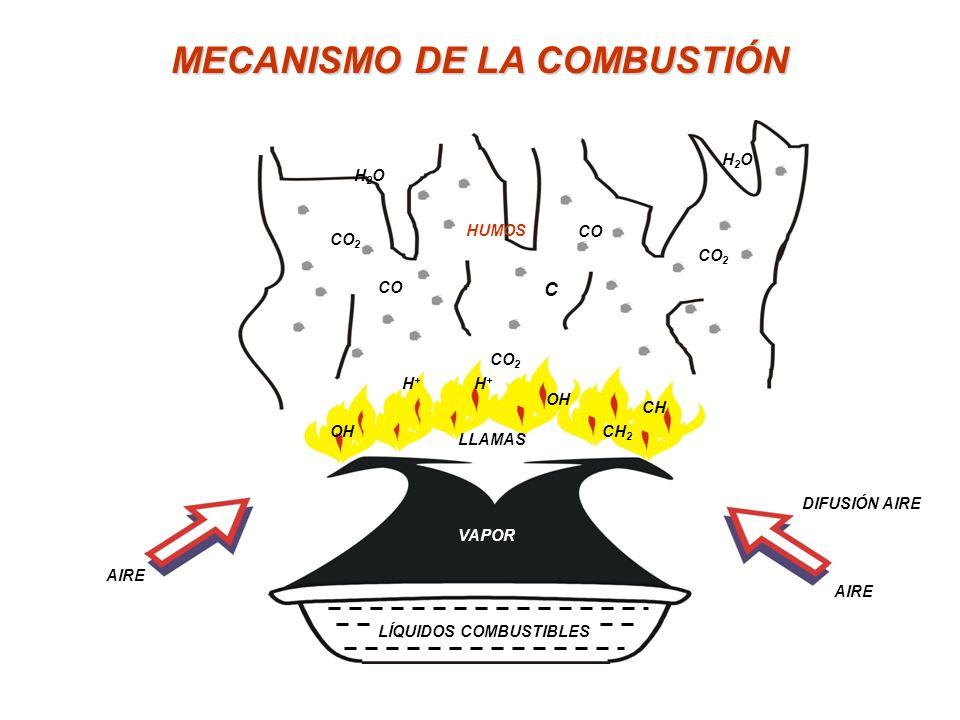 DESCRIPCIÓN DE LOS CUATRO FACTORES Combustible: Combustible: es en sí un material que puede ser oxidado, por lo tanto en la terminología química es un