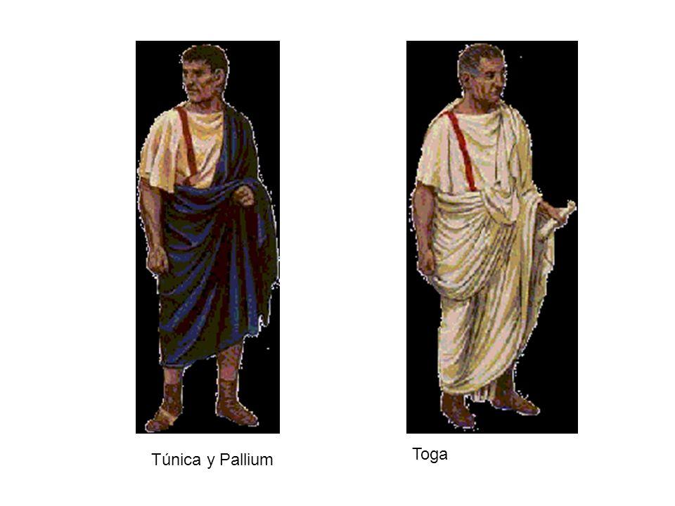 Túnica y Pallium Toga