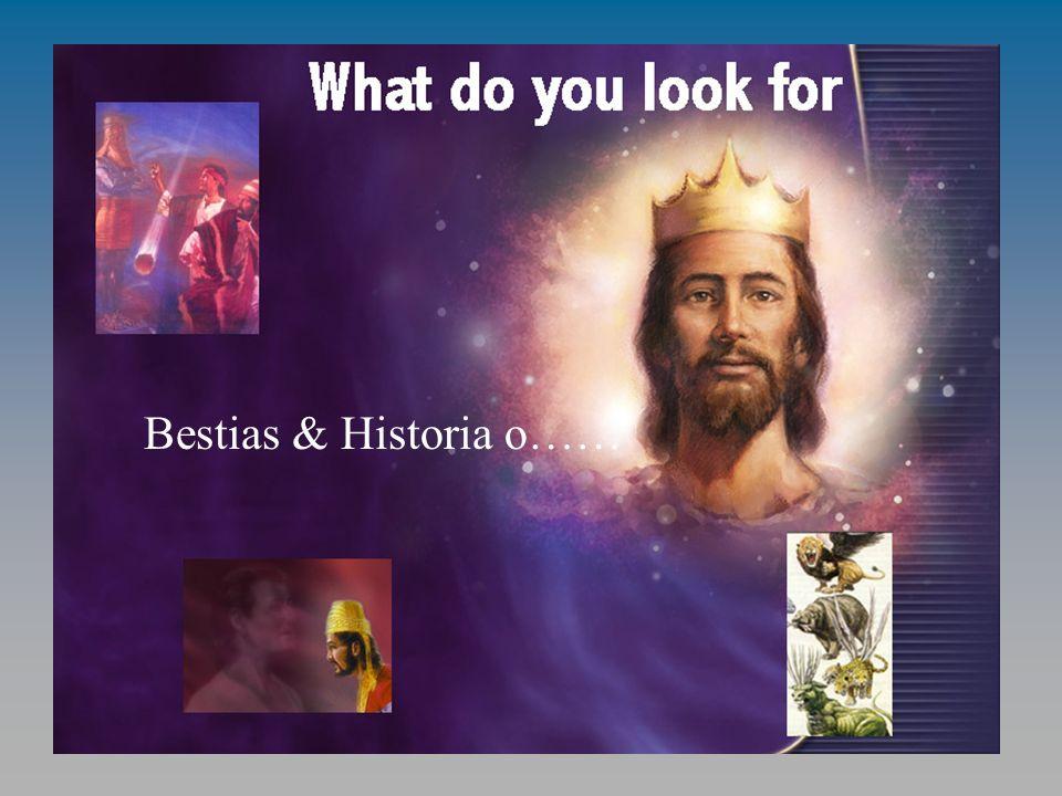 ¿Qué es lo que buscas? Bestias & Historia o……