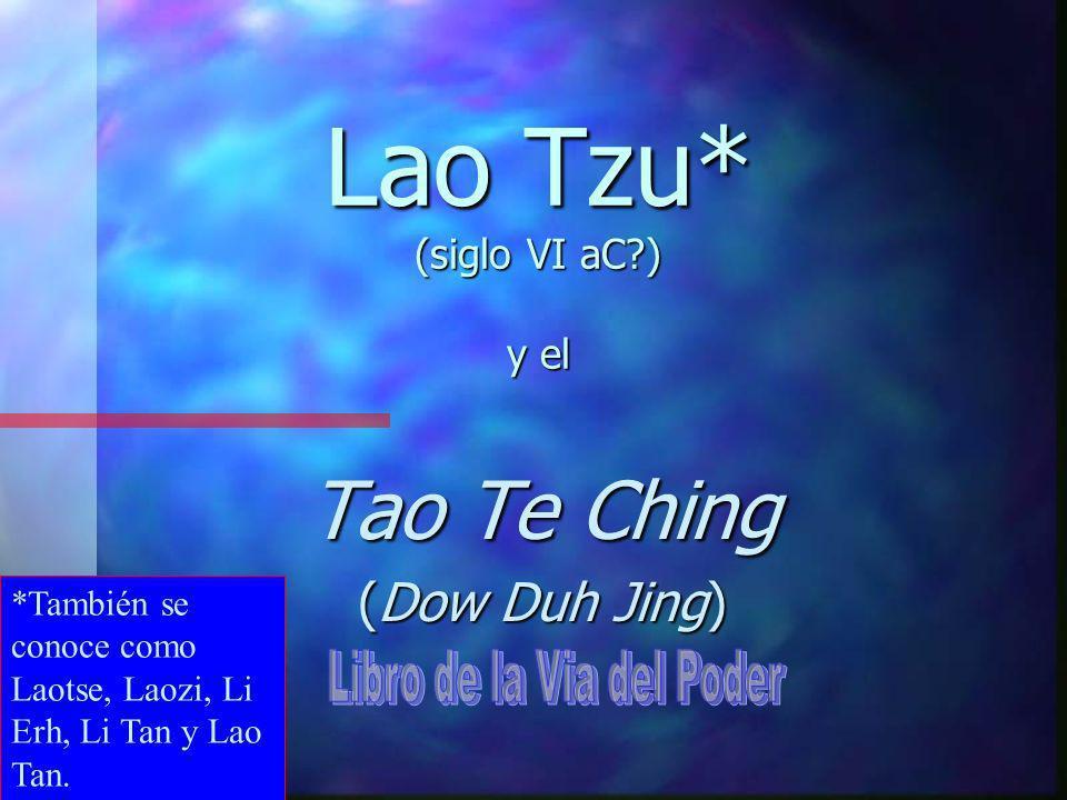 El cosmos (universo, naturaleza) es una expresión y mezcla siempre-cambiante de Yin y Yang, llena del poder (Te) del TAO.
