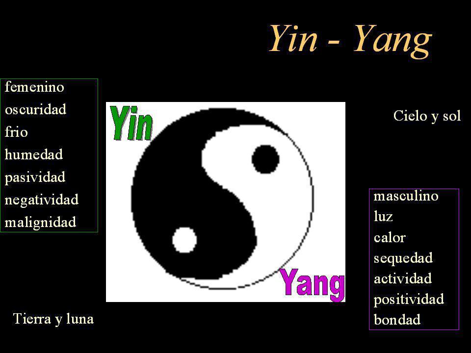 El poder (Te) del TAO se expresa en el cosmos de acuerdo con el principio del Yin/Yang.