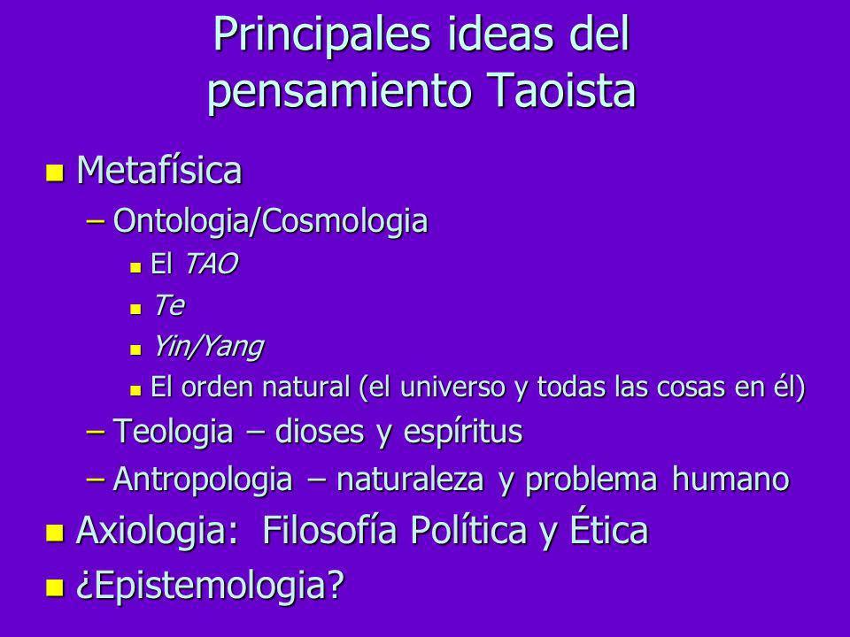 El Taoismo es tanto una filosofía como una religión
