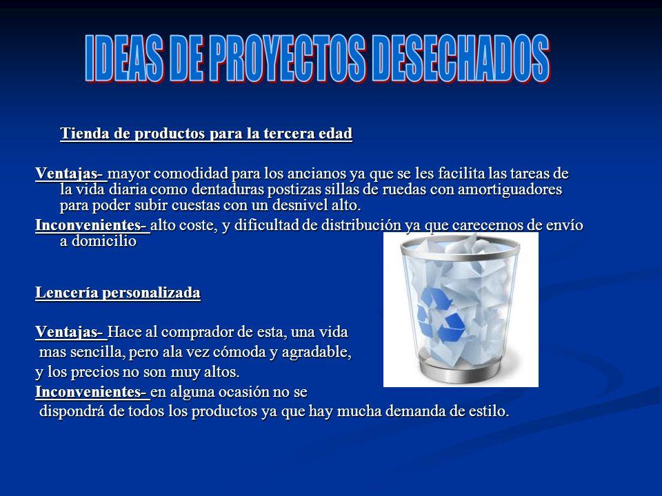 ANÁLISIS DE MERCADO: -Competidores: nuestra empresa no posee competidores directos, ya que nuestros productos no los fabrican, somos los únicos en fabricas mesas electrónicas.