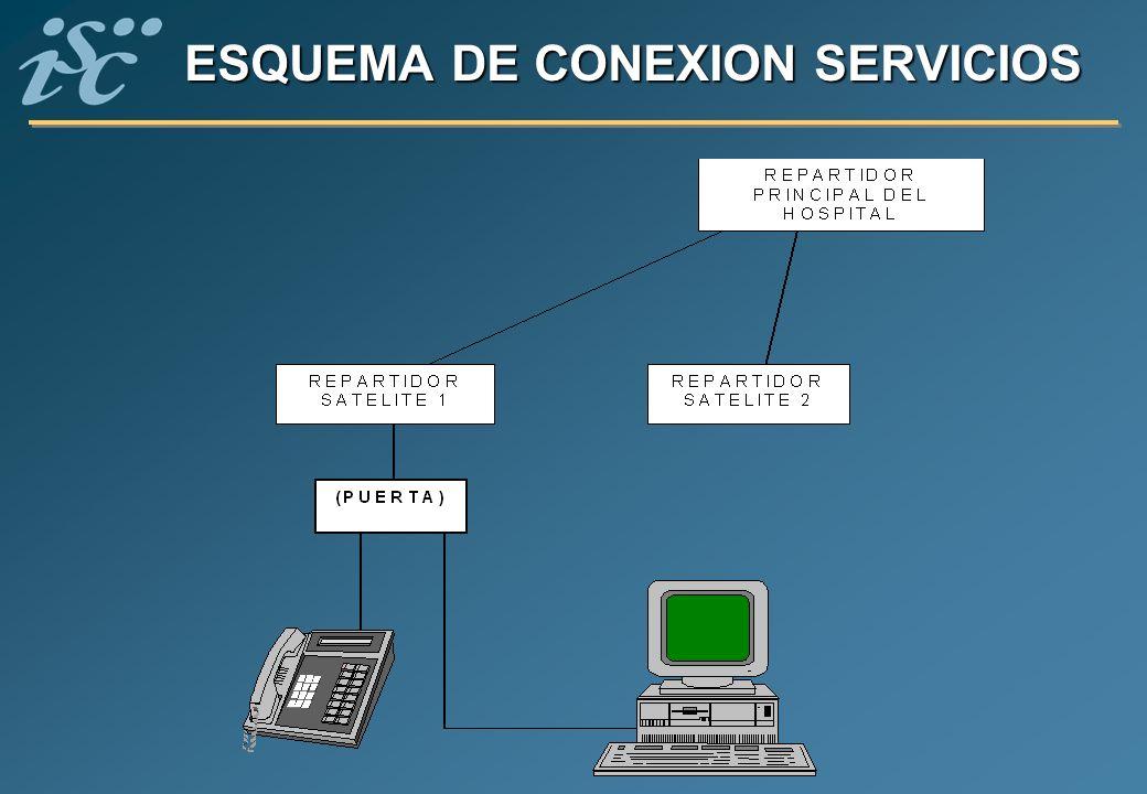 ESQUEMA DE CONEXION SERVICIOS