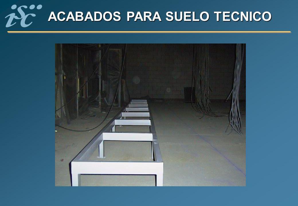 ACABADOS PARA SUELO TECNICO