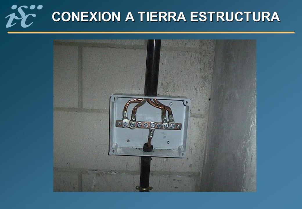 CONEXION A TIERRA ESTRUCTURA