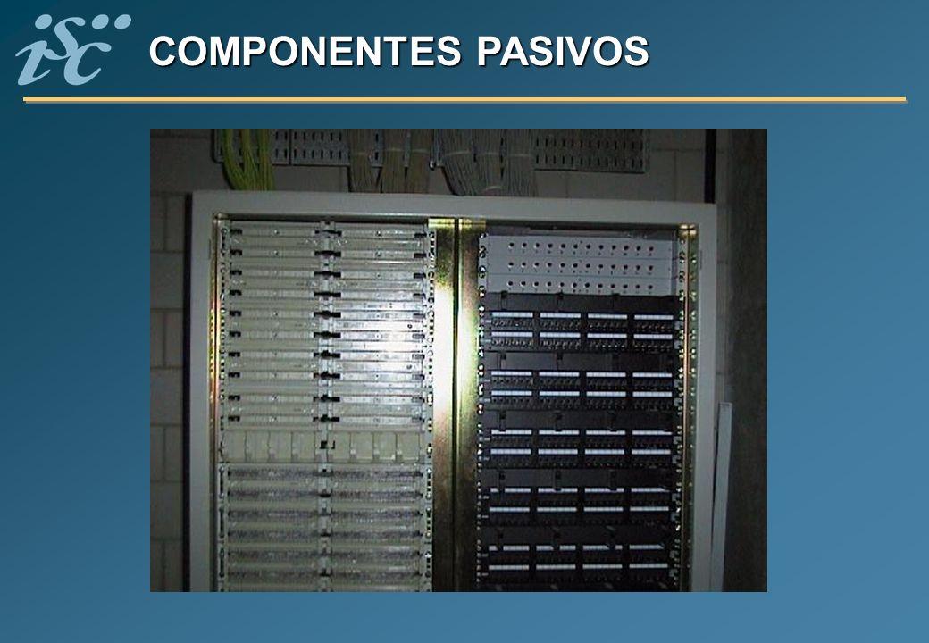 COMPONENTES PASIVOS