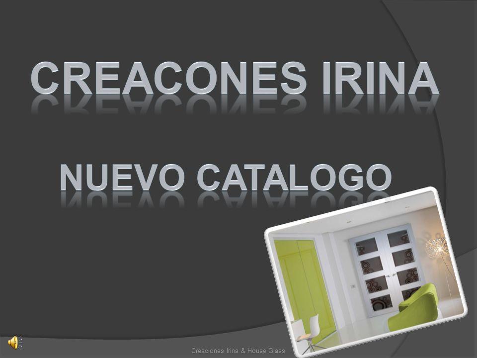 Nuevos modelos de puertas Creaciones Irina & House Glass Muestras de color Muestras de color Ref.