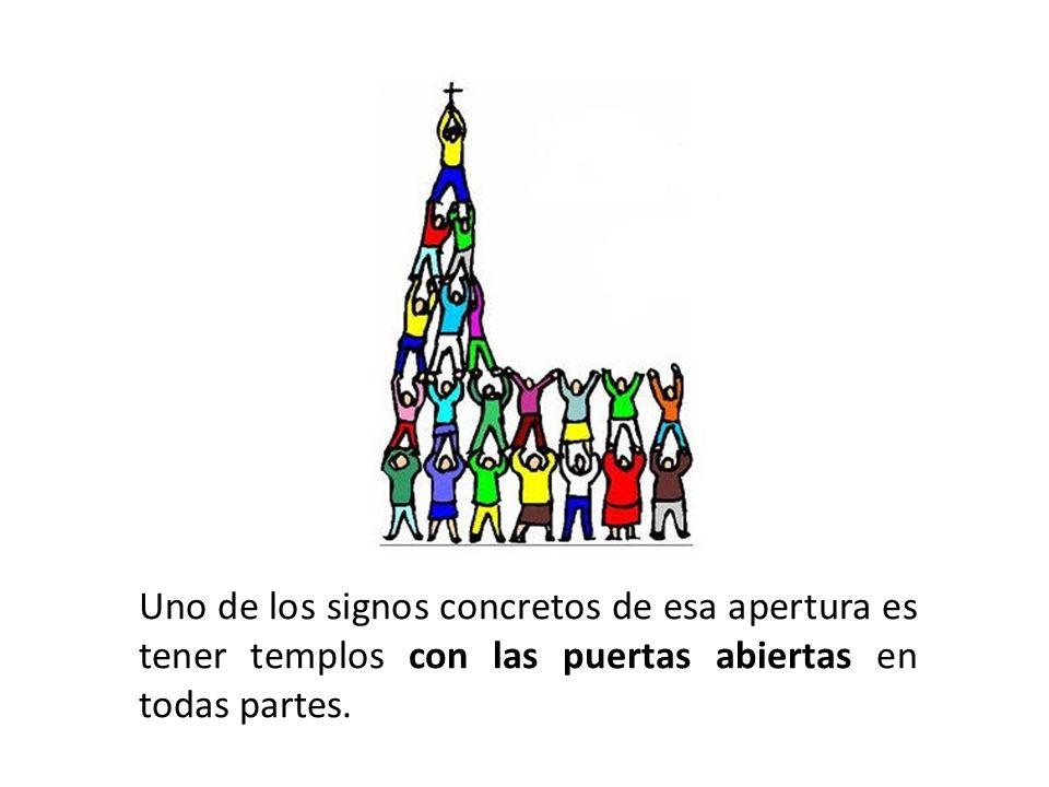 La Iglesia está llamada a ser siempre la casa abierta del Padre.