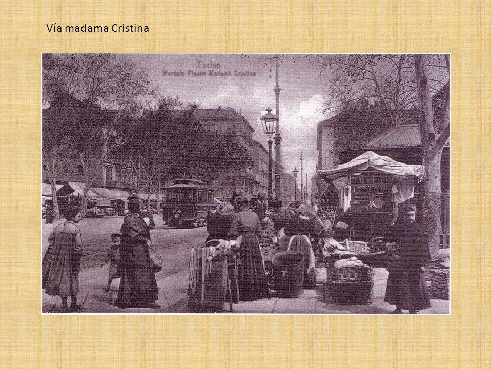 Vía madama Cristina