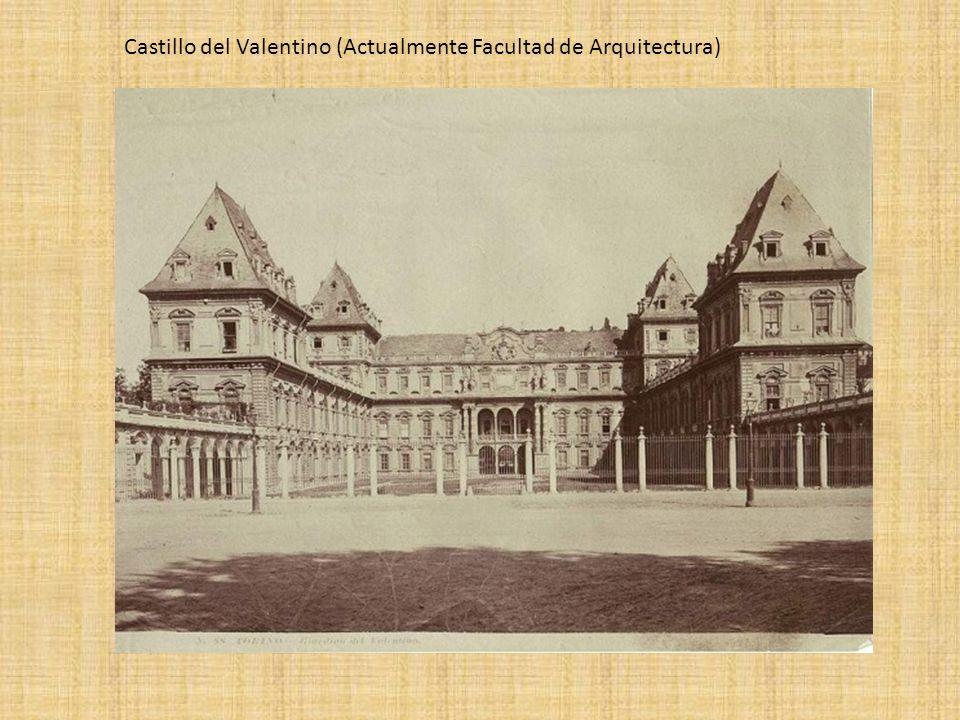 Castillo del Valentino (Actualmente Facultad de Arquitectura)