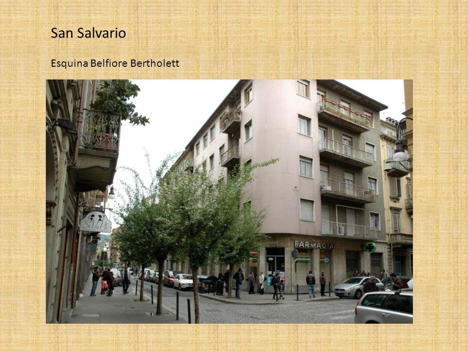 San Salvario Esquina Belfiore Bertholett